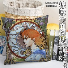 Nausicaä of the Valley of the Wind anime two-sided cotton fabric pillow