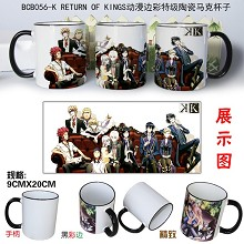 K RETURN OF KINGS anime mug cup