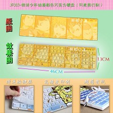 Haikyuu anime keyboard