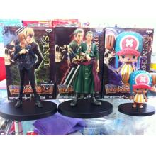 One piece anime figures set(3pcs a set)