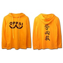 ONE PUNCH MAN anime thin hoodie