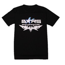 Black rock shooter anime t-shirt