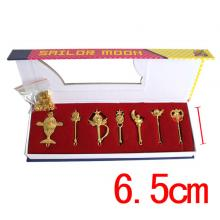 Sailor Moon key chains set(7pcs a set)