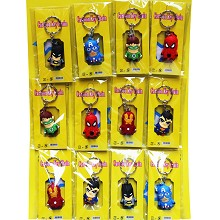 Despicbale Me anime key chains set(12pcs a set)