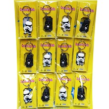 Star Wars anime key chains set(12pcs a set)
