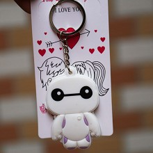 Baymax anime two-sided key chain