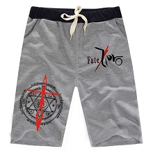 Fate stay Night anime short pants trousers