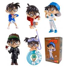 Detective conan anime figures set(5pcs a set)