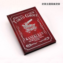 Tokyo ghoul anime hard cover notebook(102pages)