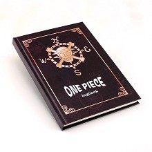 One Piece anime hard cover notebook(102pages)