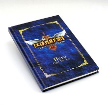 League of Legends hard cover notebook(102pages)