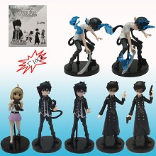 Ao no Exorcist anime figures set(7pcs a set)