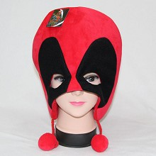 Deadpool anime plush hat