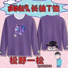 Osomatsu-san anime modal long sleeve t-shirt