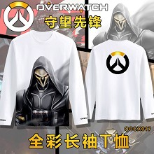 Overwatch anime modal long sleeve t-shirt
