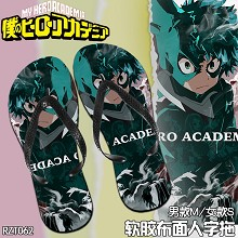 My Hero Academia anime slippers shoes a pair