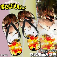 Boku no Hero Academia anime slippers shoes a pair