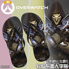 Overwatch anime slippers shoes a pair