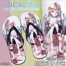 Vocaloid anime slippers shoes a pair