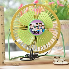 GOT7 star USB fan
