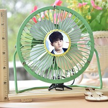 The star USB fan