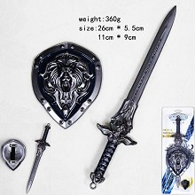 World of Warcraft mini cos weapons a set