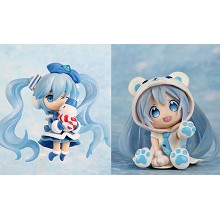 Hatsune Miku anime figures set(2pcs a set)