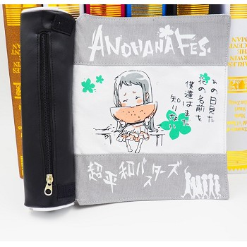 Anohana anime pen bag