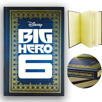Big hero 6 baymax hard cover notebook(120pages)