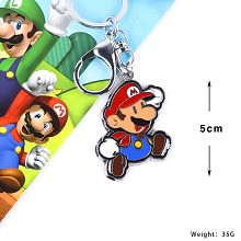 Super Mario anime key chain