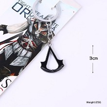 Assassin's Creed anime key chain