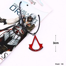 Assassin's Creed anime necklace