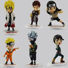 Naruto anime figures set(6pcs a set)