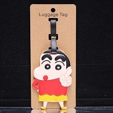 Crayon Shin-chan anime luggage tag