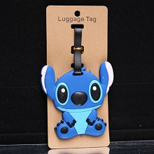 Stitch anime luggage tag