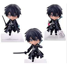 Sword Art Online anime figures set(3pcs a set)