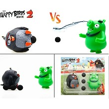Angry Birds anime figures set(2pcs a set)