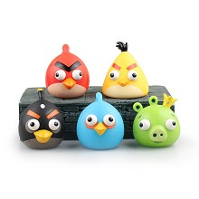 Angry Birds anime figures set(5pcs a set)