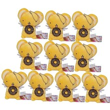 4inches Card Captor Sakura anime plush dolls set(10pcs a set)