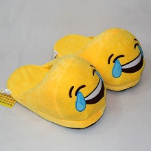 Emjoy plush shoes slippers a pair