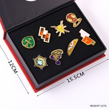 Pokemon anime brooches pins set(8pcs a set)