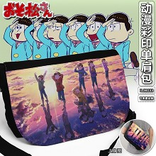 Osomatsu-san anime printing satchel shoulder bag
