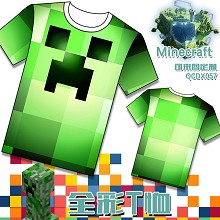 Minecraft anime t-shirt
