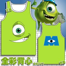 Monsters University anime tank top vest