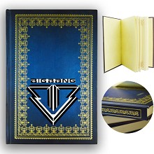 Bigbang star hard cover notebook(120pages)