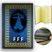 FFF hard cover notebook(120pages)