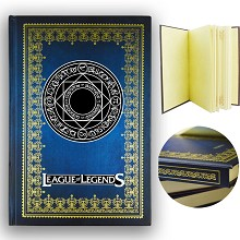 League of Legends hard cover notebook(120pages)