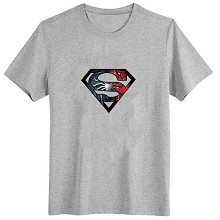 Super man cotton t-shirt