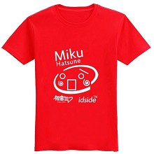 Hatsune Miku cotton t-shirt