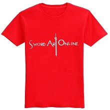 Sword Art Online cotton t-shirt